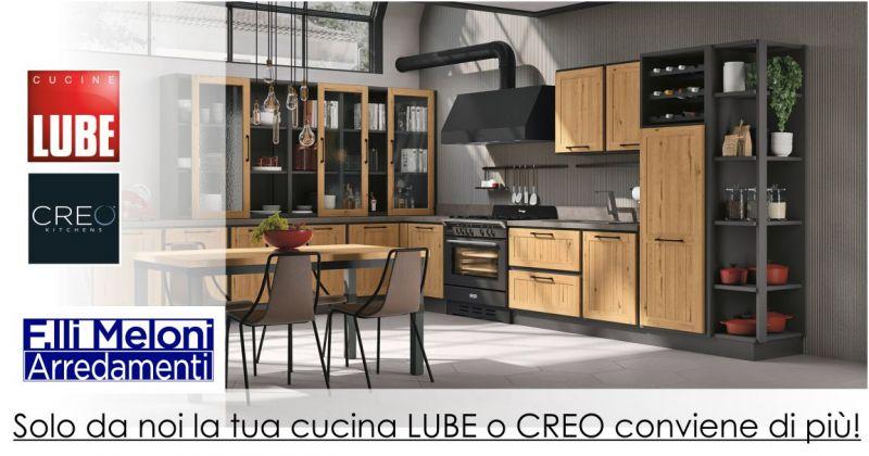 FRATELLI MELONI Oschiri - promozione cucina LUBE CREO KITCHEN trasporto montaggio gratis