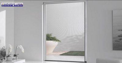 promozione vendita zanzariere su misura per finestra e portafinestra novara soluzioni casa