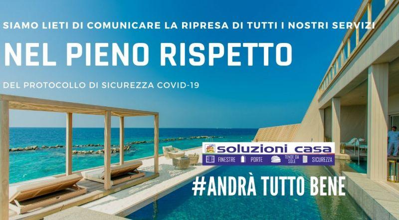 Offerta siamo aperti rispettando le norme di sicurezza a Novara