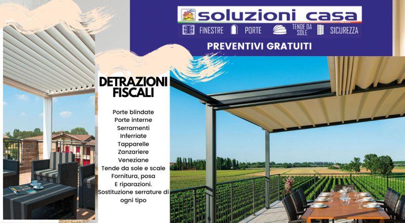 Vendita installazione e progettazione di tende da sole A Novara – offerta istallazione di porte blindate a Novara