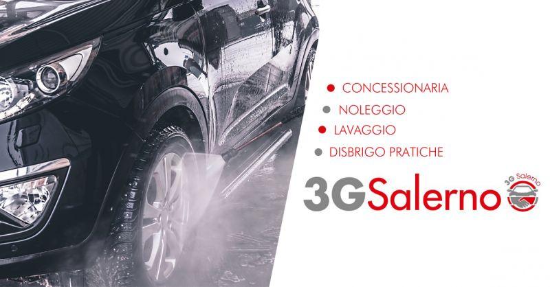 3G SALERNO offerta autolavaggio con ritiro a domicilio salerno
