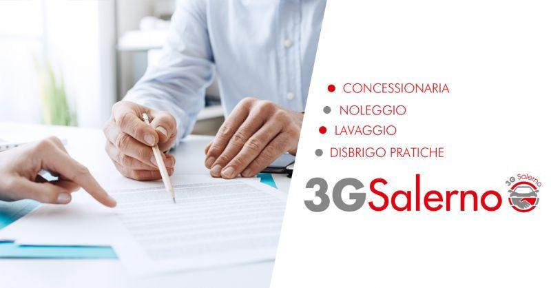 3G SALERNO SRLS offerta agenzia gestione pratiche auto salerno