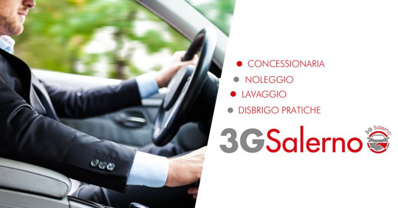 3G SALERNO SRLS offerta concessionaria noleggio auto breve lungo termine salerno