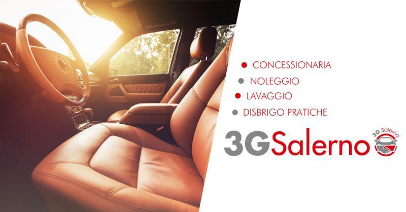 3G SALERNO offerta lavaggio auto sanificazione abitacolo salerno
