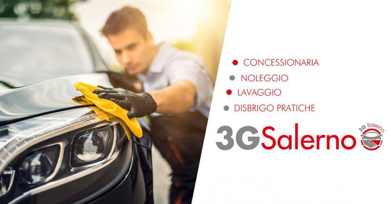 3G SALERNO - Offerta Lavaggio Auto a Mano Professionale Salerno