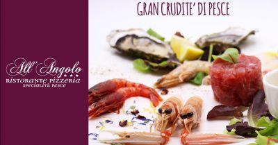 offerta mangiare specialita di pesce a vicenza occasione crudita di mare pesce fresco vicenza