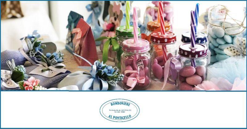 BOMBONIERE AL PONTICELLO - Offerta vendita bomboniere cerimonie negozio ogettistica cerimonia