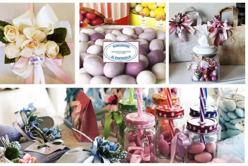 BOMBONIERE AL PONTICELLO Offerta realizzazione vendita bomboniere personalizzate Vicenza