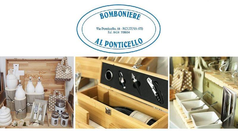 BOMBONIERE AL PONTICELLO Offerta vendita articoli arredo casa Kit cucina Renoir Wine Packaging