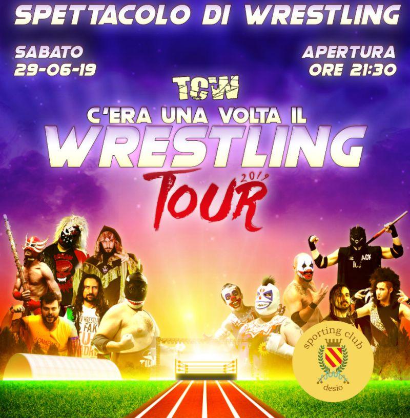 SPORTING CLUB DESIO spettacolo di wrestling  - serata desio total combat wrestling tour 2019