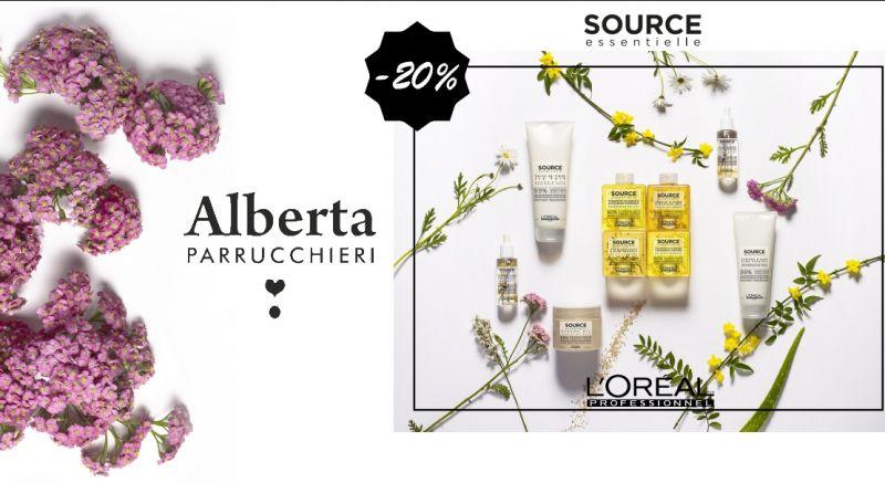ALBERTA BRAU PARRUCCHIERI - offerta prodotti source essentielle L oreal trattamento capelli
