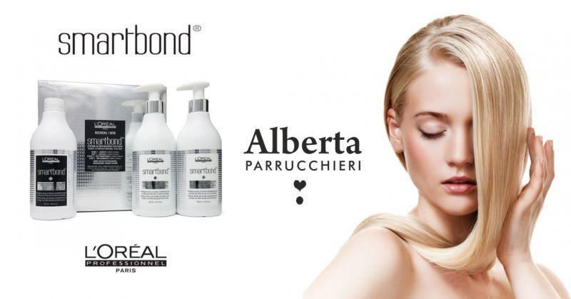ALBERTA BRAU PARRUCCHIERI - offerta trattamento professionale capelli Smartbond L oreal