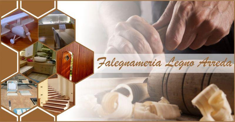 Legno Arreda falegnameria Lanusei - offerta realizzazione arredi legno personalizzati su misura