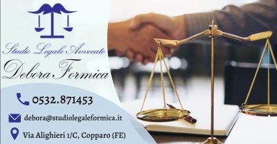 offerta avvocato esperto in contrattualistica ferrara occasione consulenza legale analisi del contratto ferrara