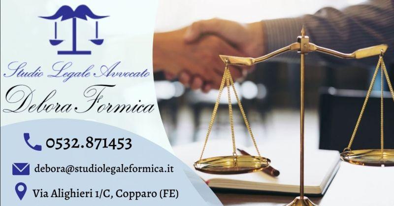 Offerta avvocato esperto in contrattualistica Ferrara - Occasione consulenza legale analisi del contratto Ferrara