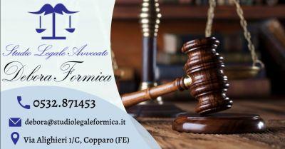 offerta consulenza legale controversie condominiali ferrara occasione assistenza contratti di locazione ferrara