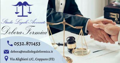 offerta avvocato esperto in tutela del consumatore occasione avvocato esperto diritto consumatori ferrara