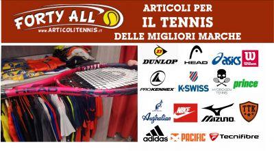 offerta vendita articoli tennis adidas nike head asics k swiss wilson australian hydroge prince