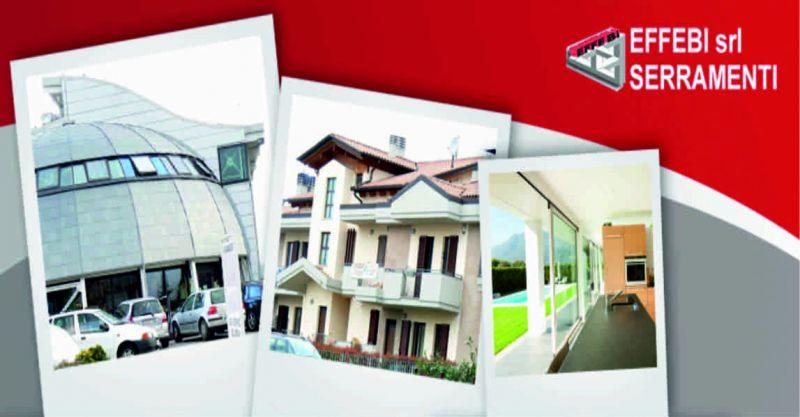Effebi serramenti offerta serramenti alluminio - occasione finestre alluminio