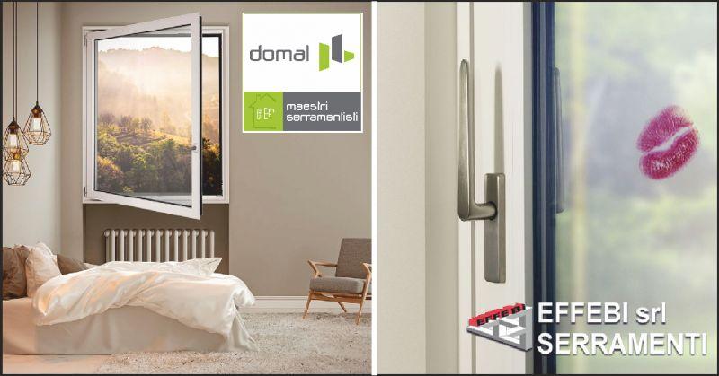 effebi serramenti offerta finestre in alluminio - occasione infissi domal perugia