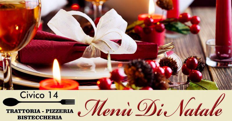 CIVICO 14 offerta Natale mangiare a Roma - occasione menù pranzo di natale a Roma