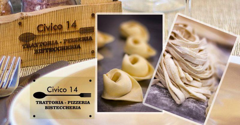 Offerta Trattoria Tipica Romana - Occasione specialità pasta fresca fatta in casa Monterotondo
