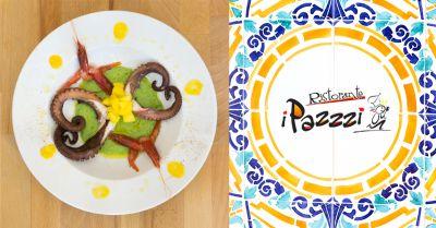 ristorante i pazzi offerta cucina del territorio marsala occasione ristorante prodotti tipici