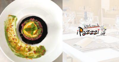 ristorante i pazzi offerta menu di stagione ristorante marsala
