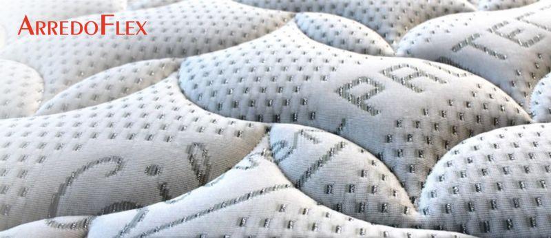 ARREDOFLEX offerta materasso in MEMORY sfoderabile in silver protect anallergico