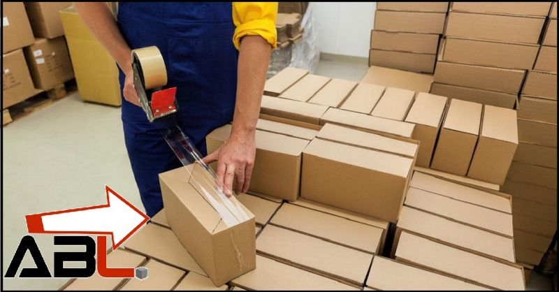 A.B. LOGISTICA Offerta servizio professionale confezionamento secondario Monterotondo Roma