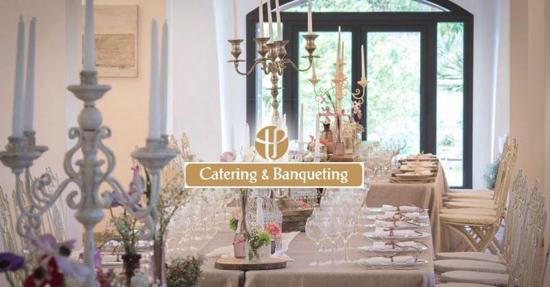 T.P. CATERING Offerta organizzazione servizio Banqueting e Catering Roma e provincia