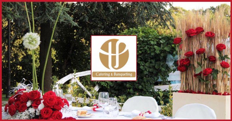T.P. CATERING Occasione servizio personalizzato decorazioni floreali per eventi cerimonie Roma