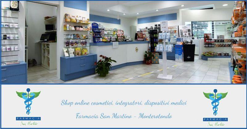 FARMACIA SAN MARTINO - Offerta vendita online Shop cosmetici integratori dispositivi medici
