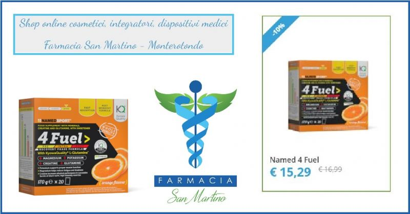FARMACIA SAN MARTINO Offerta vendita online Named 4 Fuel Formulazione ipotonica post-workout