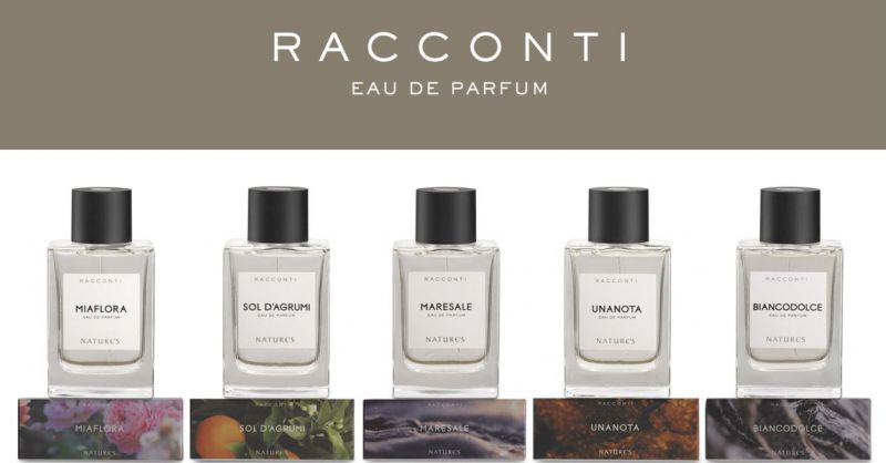 Herba Salus erboristeria Nuoro - offerta  fragranze Racconti Natures