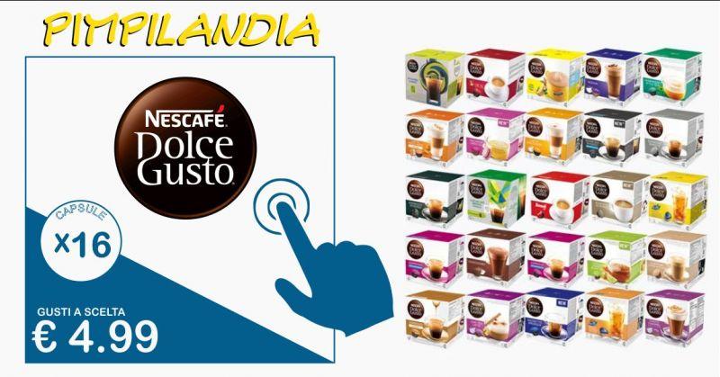 PIMPILANDIA negozio online - Offerta confezioni da 16 capsule di Nescafe Dolce Gusto