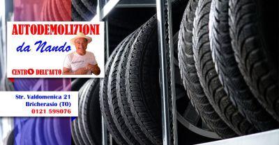 centro dellauto sas offerta vendita pneumatici usati pinerolo bricherasio saluzzo