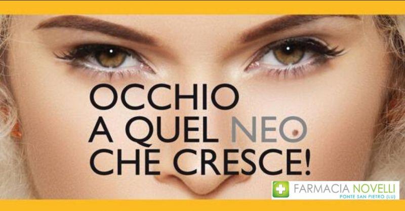 promozione visita prevenzione melanoma Lucca - FARMACIA NOVELLI