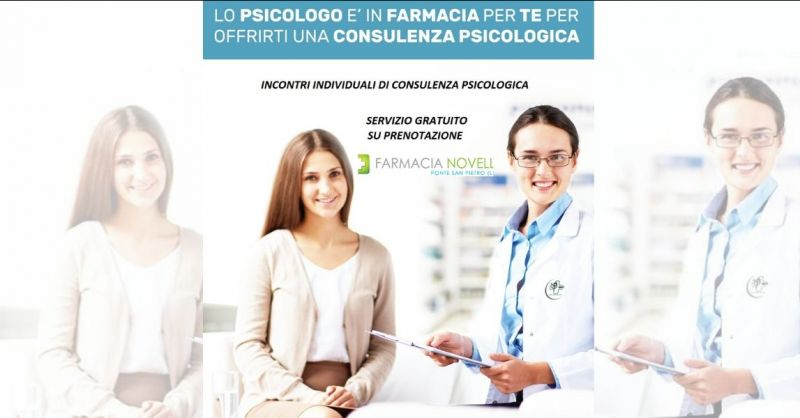 offerta lo psicologo in farmacia Lucca - promozione servizi e prodotti Farmacia a Lucca