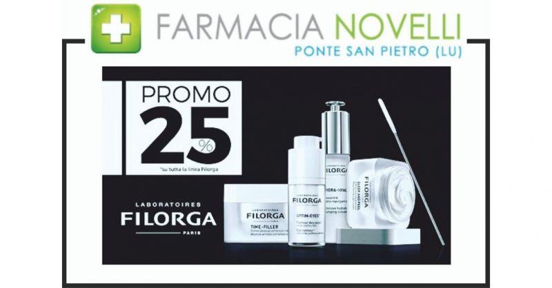 promozione sconto prodotti trattamenti anti età e cosmetici Filorga Lucca - FARMACIA NOVELLI