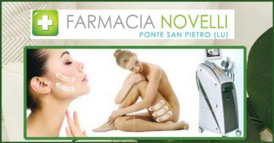 farmacia novelli offerta trattamenti rimodellanti corpo e viso lucca