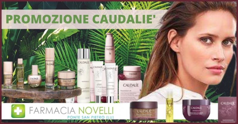 offerta detergenti per il viso e prodotti per la pelle CAUDALIE - occasione creme corpo Lucca