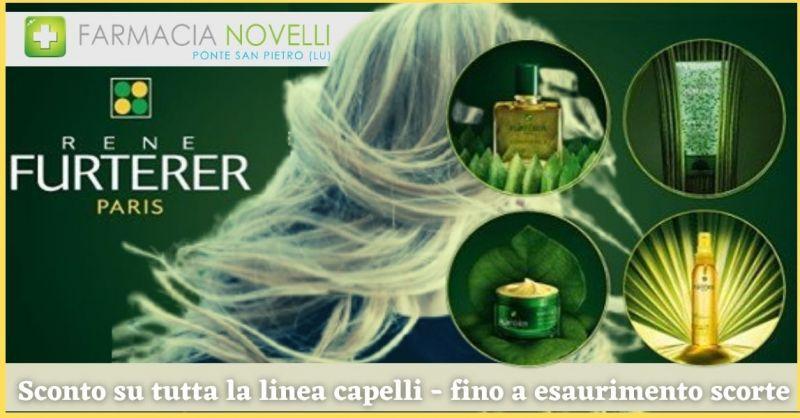 promozione prodotti per la salute e la bellezza dei capelli RENE FURTER - Farmacia Novelli