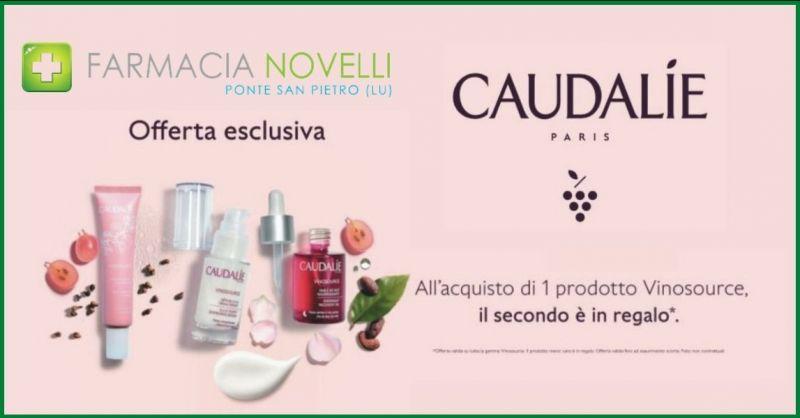 promozione prendi due paghi uno creme per la cura della pelle - offerta CAUDALIE prodotti pelle