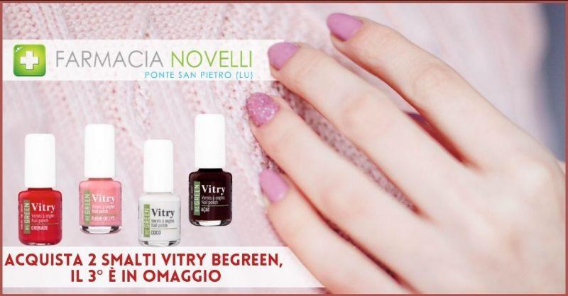 promozione smalti VITRY BEGREEN 3 per 2 - offerta prodotti per le bellezza in promozione Lucca