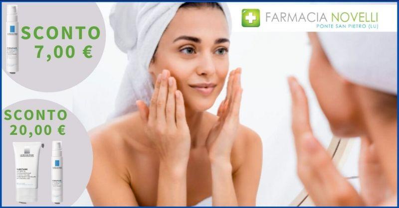 occasione prodotti per la cura della pelle LA ROCHE Lucca e Versilia - FARMACIA NOVELLI