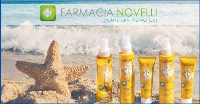 promozione solari e doposole CAUDALIE - offerta prodotti solari in promozione Lucca
