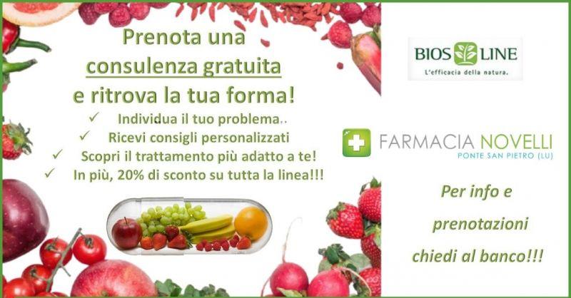 promozione consulenza nutrizionale Lucca - offerta prodotti per la forma fisica Lucca