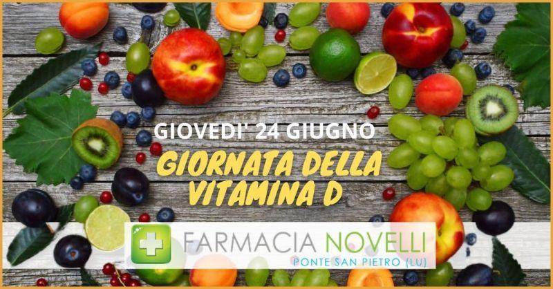 OCCASIONE TEST VITAMINA D - FARMACIA NOVELLI