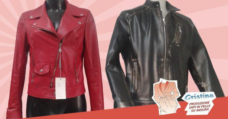 Offerta Abbigliamento in pelle Ancona - Occasione Giubotti in Pelle Sartoria su misura Ancona